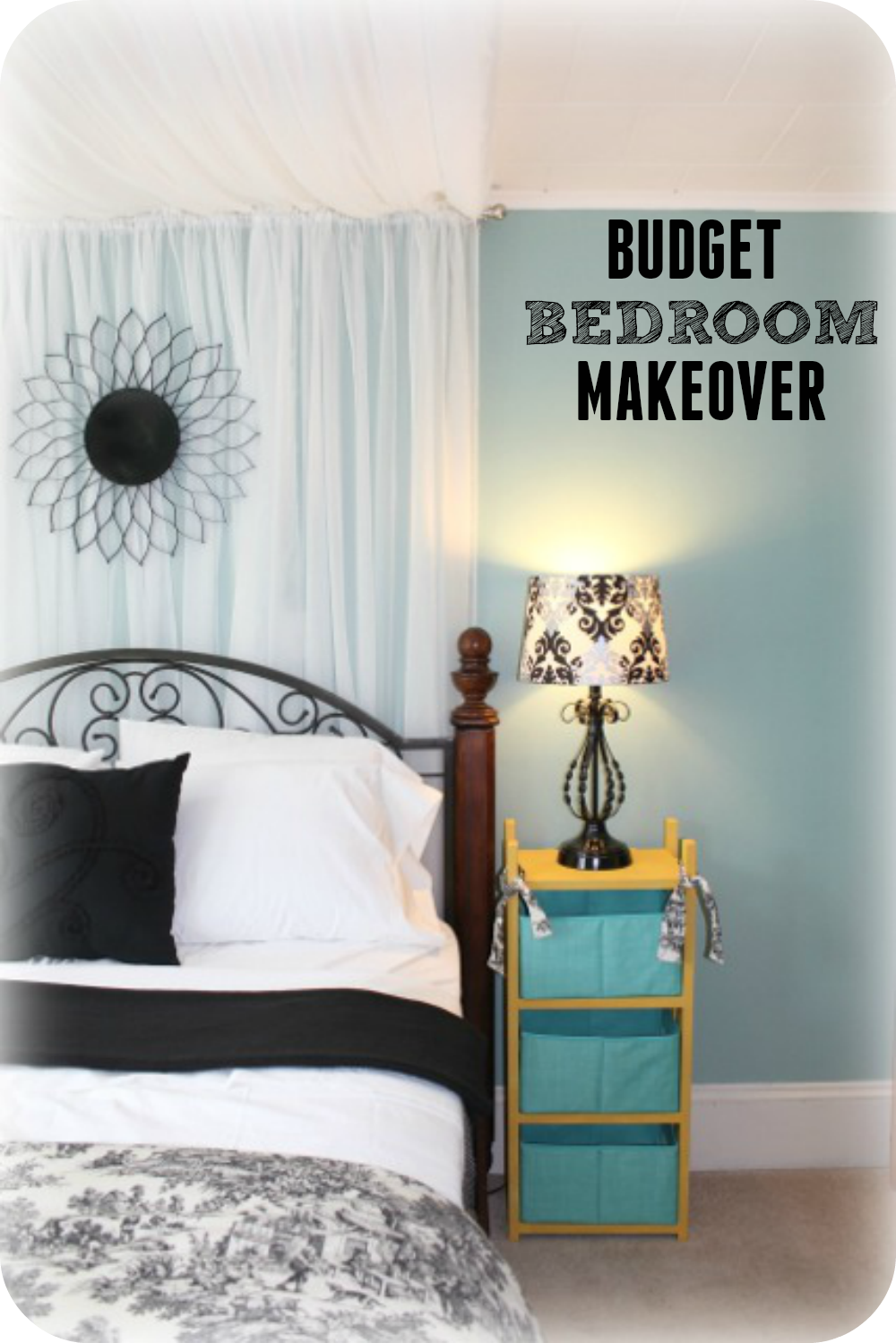 decorate your bedroom for less here is a beautiful bedroom makeover