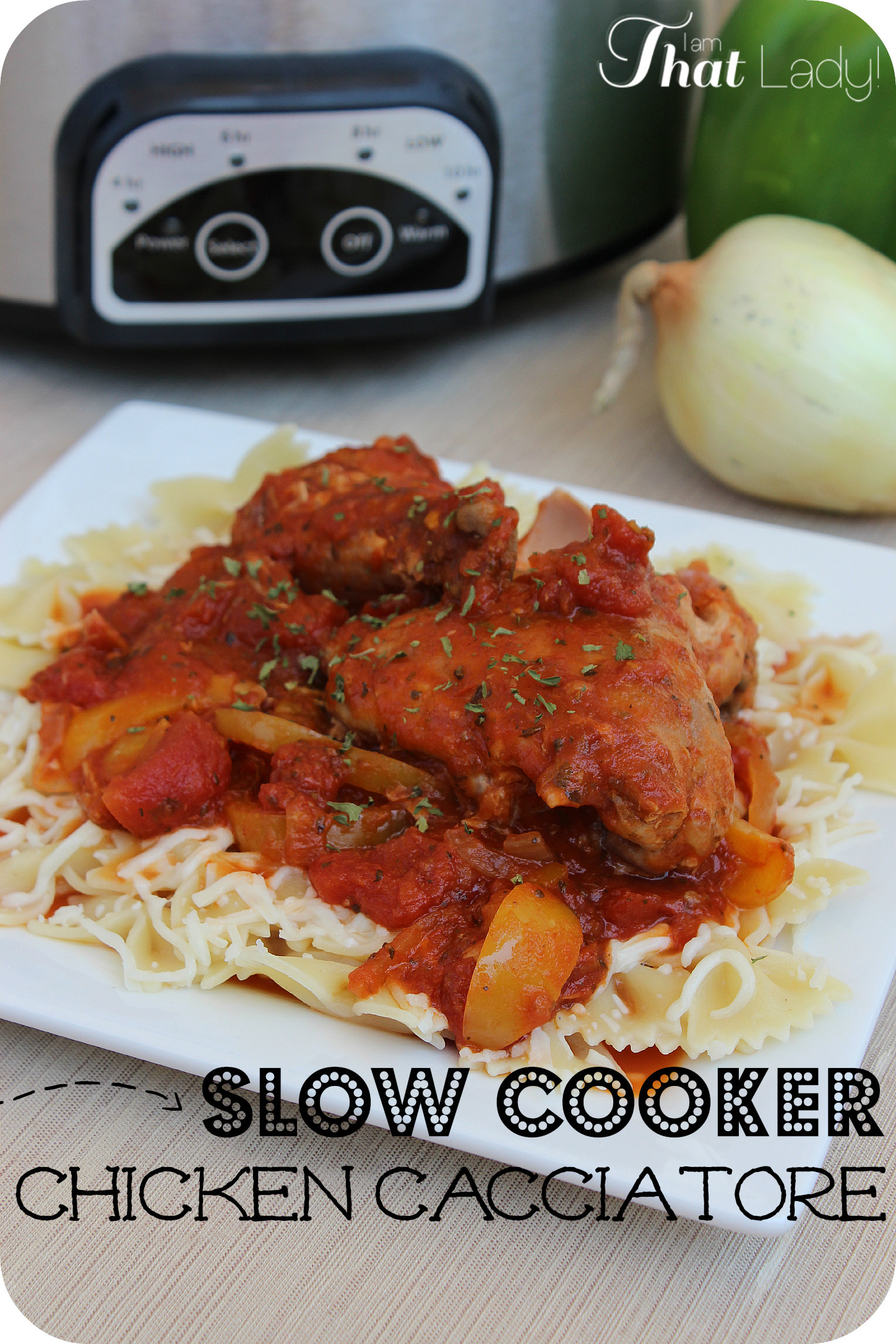Cacciatore Chicken Recipe - Easy and delicious!
