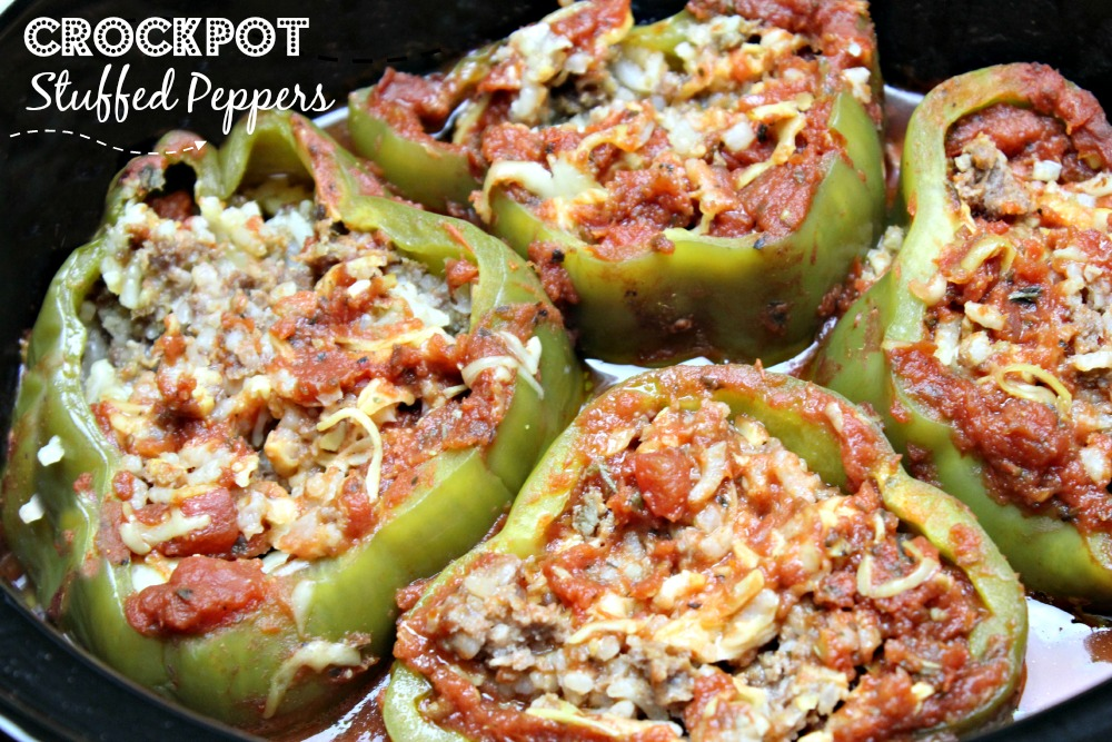 Are you looking for a healthy stuffed peppers recipe? Check out this amazing crockpot stuffed peppers recipe, it is super healthy and easy too!