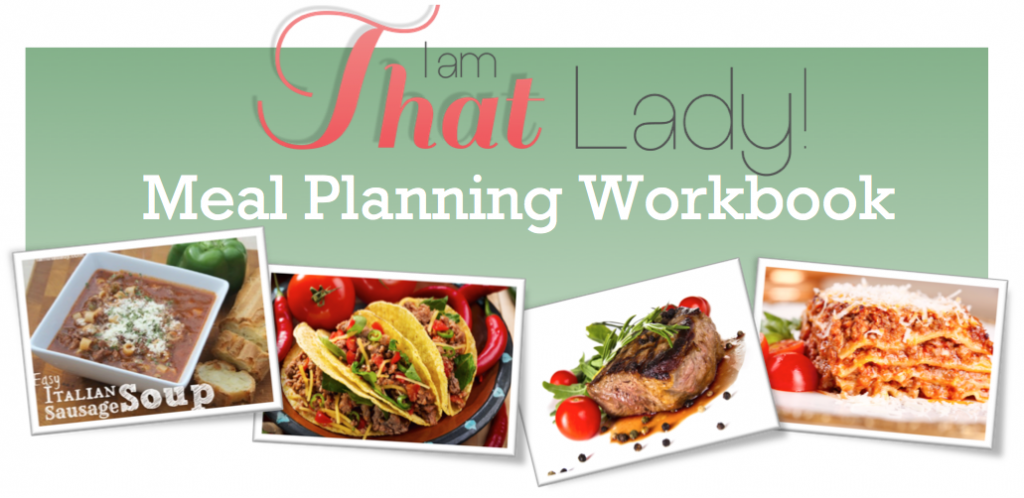 Would you like to learn how to meal plan - head on over to download this FREE Meal Planning Workbook!