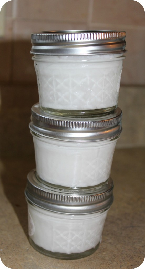 Coconut Oil Jars