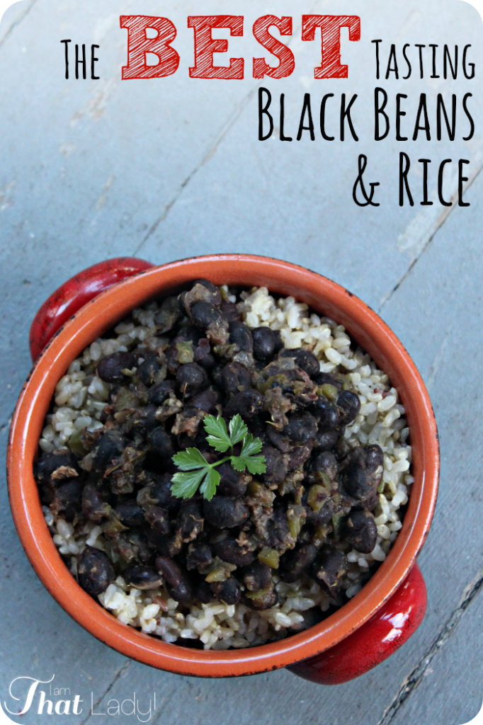 Good Brown Rice Recipes – Quick and Easy Black Beans and Rice