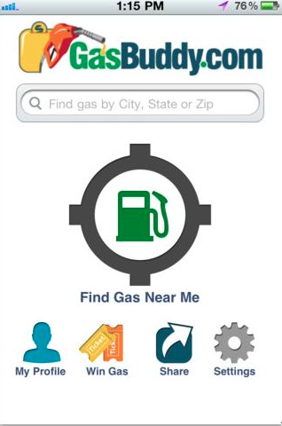 Gas Buddy App