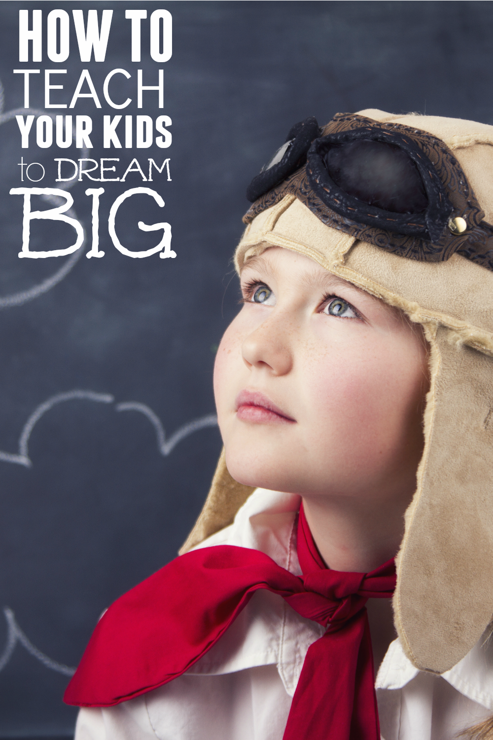 Wondering how to teach your kids to dream big? Here is a post that will help you! AD