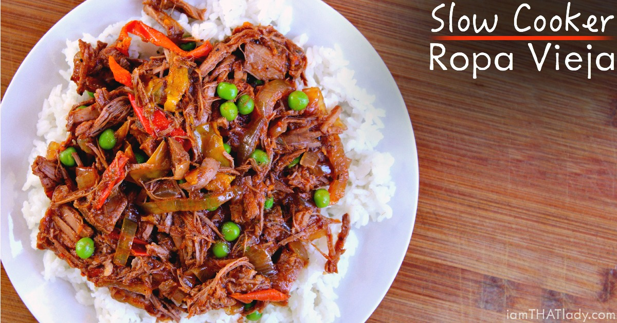 Slow Cooker Cuban-Style Ropa Vieja Recipe — Dishmaps