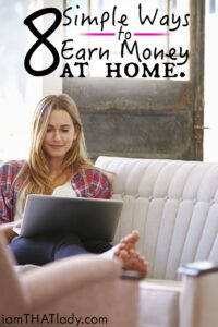 8 Simple Ways to Earn Money from Home