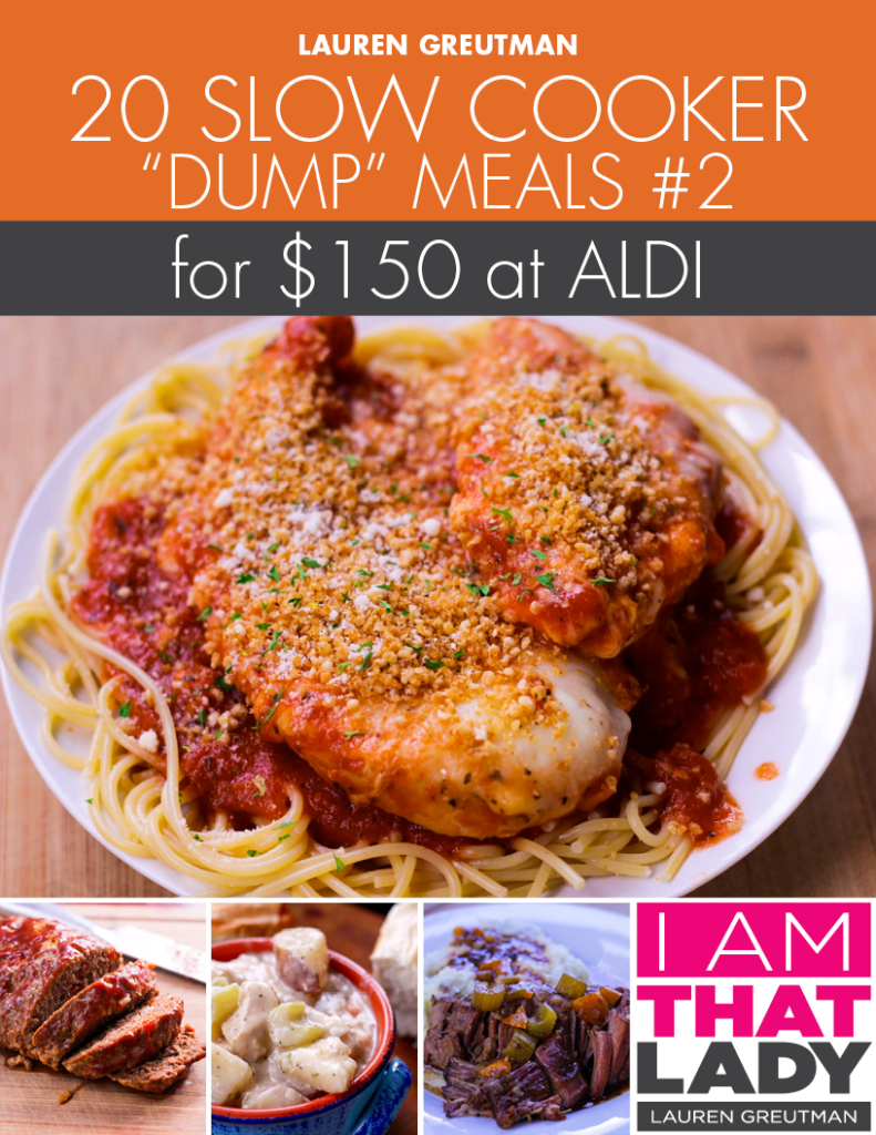 Stop Stressing About Dinner With This Aldi Meal Plan Make 20 Amazing Crockpot Dinners